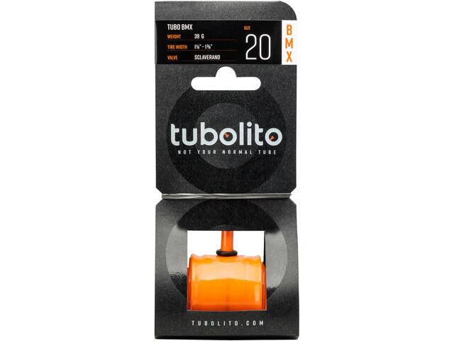 "tubolito Tubo-BMX Chambre à air 20x1.1/8-1.3/8"", orange"